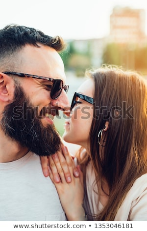 Stock photo: Loving Coulpe Having Fun In The Spring Nature