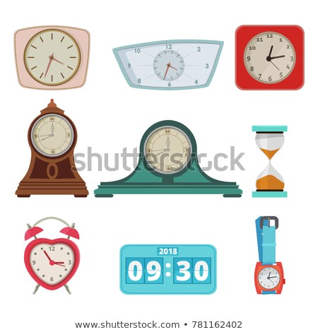 Collection of different time devices Stock photo © jossdiim
