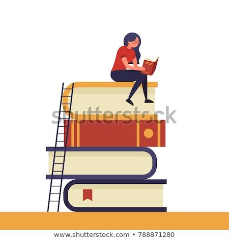 ebook · lector · electrónico · libro · 3D · Screen - foto stock © robuart