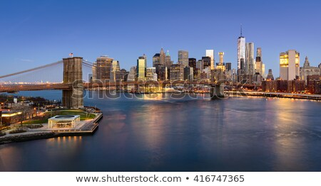 Elevated View Of Brooklyn Bridge Stock photo © AndreyPopov