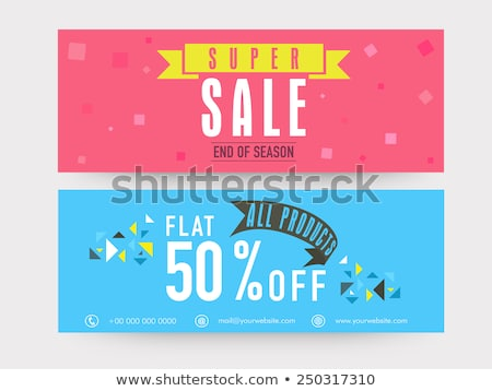 all products sale discounts on web pages set stock photo © robuart