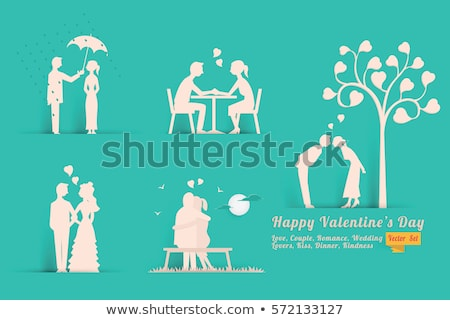 man sitting on bench and holding bird in hands stock photo © robuart