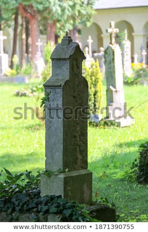 Historic cemetery in Salzburg				 Stock photo © Spectral