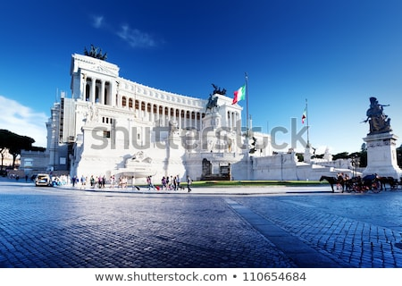 Vittorio Emanuele II Monument in Venice, Italy Stock photo © boggy