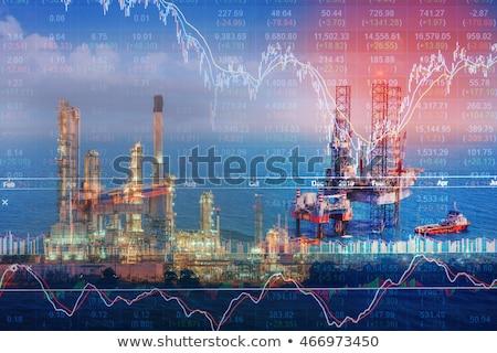 Energy Prices Chart Stock photo © AndreyPopov