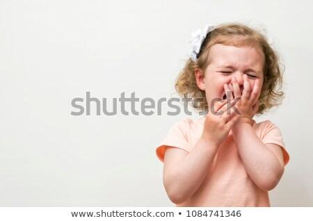 девочку плачу печально девушки домой плакать Сток-фото © AndreyPopov