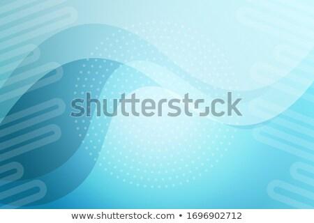 Mértani elegáns türkiz szín névjegy terv Stock fotó © SArts