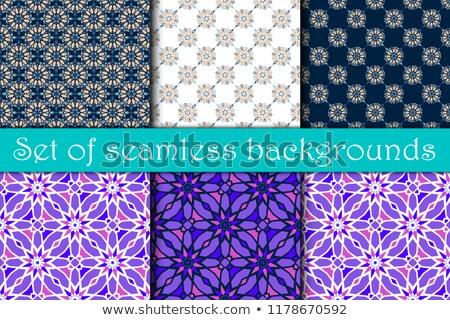 Decorativo retro sfondo wallpaper pattern Foto d'archivio © AbsentA
