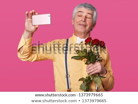 Cose-up of red rose. Stock photo © iofoto