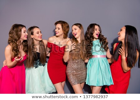 Young woman at school with her friends Stock photo © photography33