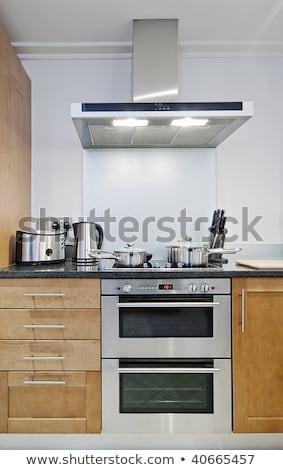 Shot of kitchen worktop and drawer Stock photo © vladacanon