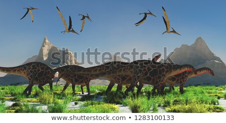 Dicraeosaurus Stock photo © mariephoto