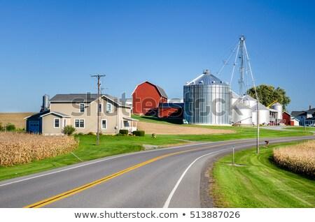 Farm Barn and Equipment Stock photo © ArenaCreative