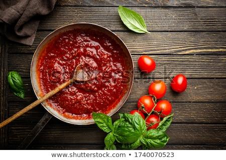 tomato sauce, ketchup Stock photo © M-studio