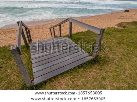 étapes plage tropicales Resort soleil mer Photo stock © Kurhan
