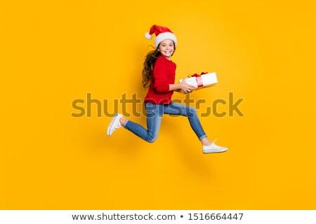 Christmas giftboxes Stock photo © IMaster