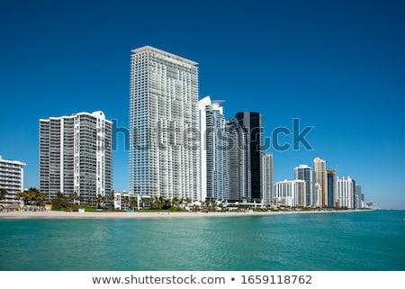 skyscraper at Sunny Isles Beach in Miami, Florida Stock photo © meinzahn