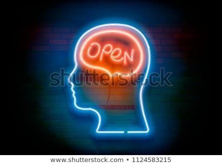 Open minded Stock photo © Krisdog