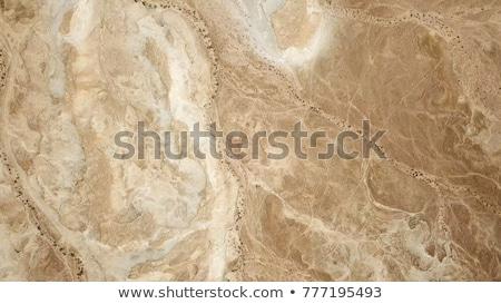 Vista desierto fuera ventana abandonado casa Foto stock © dirkr