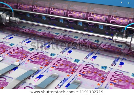 Printer making money Stock photo © gemenacom