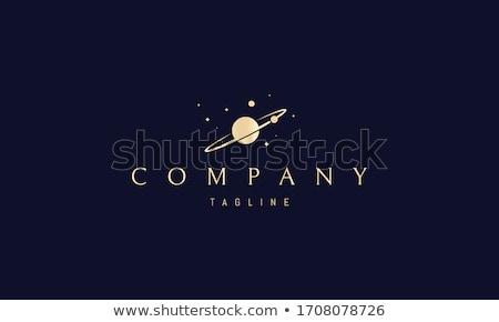 globe sign golden vector icon design stock photo © rizwanali3d