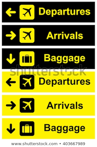 airport sign stock photo © vector1st