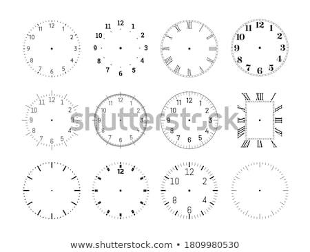 clock face collection stock photo © derocz