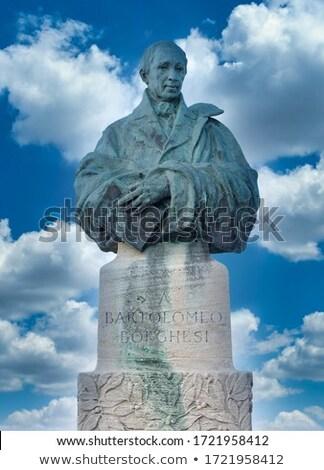 Stock photo: Bartolomeo Borghesi monument in San Marino