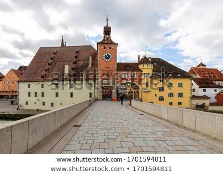 View of Regensburg, Germany Stock photo © borisb17