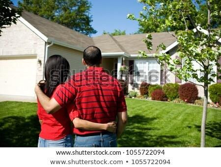 Fronte view femminile african american agente immobiliare Foto d'archivio © wavebreak_media