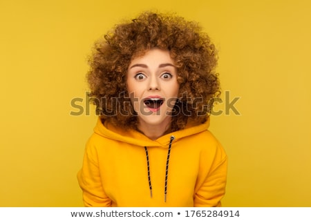 Stressed Woman In Hoodie Stock photo © AndreyPopov