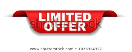 üzlet promóció különleges vásár címke vektor Stock fotó © robuart
