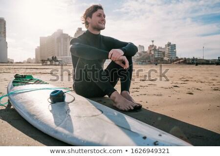 férfias · klasszikus · férfi · stilizált · portré · jól · kinéző - stock fotó © photography33