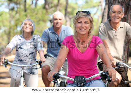 senior woman getting in shape Stock photo © photography33