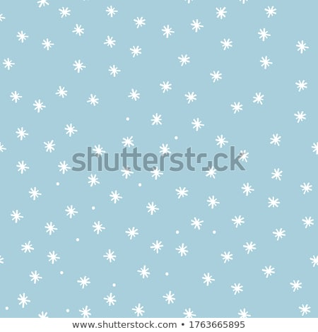 baby with snow flake Stock photo © zdenkam