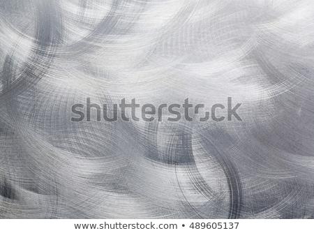 körkörös · rozsdamentes · acél · textúra · terv · háttér · fém - stock fotó © ssilver