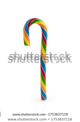 Line of candies multi coloured against a white background Stock photo © wavebreak_media