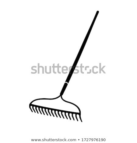 Handle rake Stock photo © timbrk
