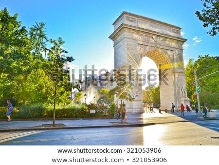 Washington kare panoramik görüntü New York örnek Stok fotoğraf © Stocksnapper