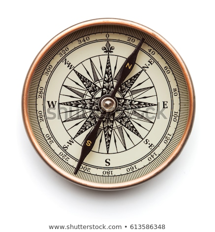 isolated compass stock photo © sfinks