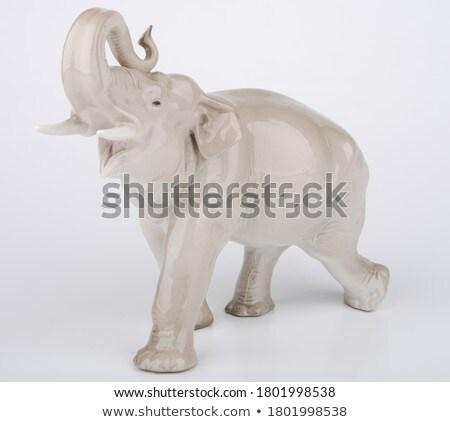 Elephant statue Stock photo © Hofmeester