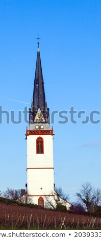 tower of st. Martin church in Eltville Erbach Stock photo © meinzahn