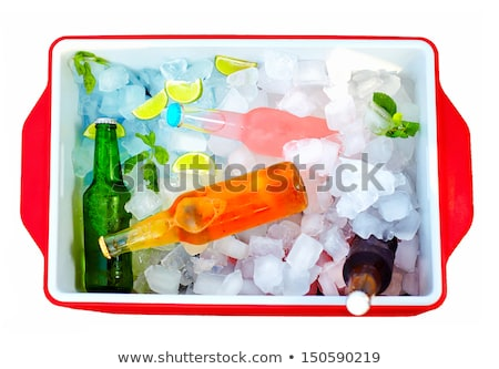 A cooler with softdrinks Stock photo © bluering