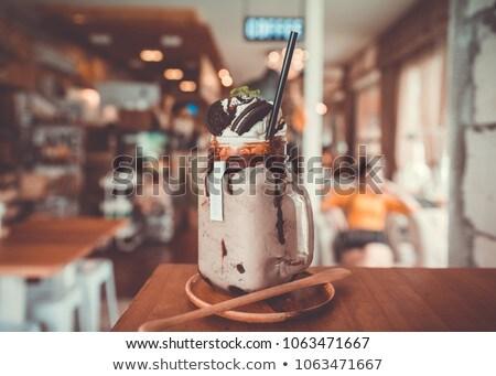 milkshake shop Stock photo © adrenalina