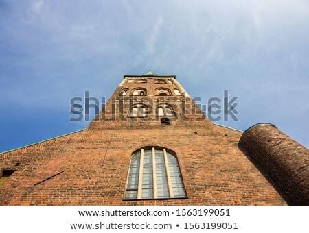 Romana católico catedral Riga Letonia reloj Foto stock © benkrut