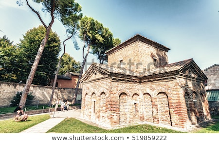 Mausoleum of Galla Placidia, Ravenna, Italy Stock photo © borisb17