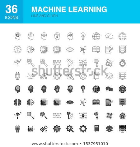 Web Analytics Vector Glyph Icon Stock photo © smoki