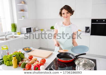 Steak with fresh vegetables salad Stock photo © stoonn