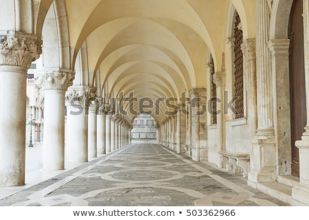 Venice - arch from the colonnade of the Palace of Doges    Stock photo © wjarek