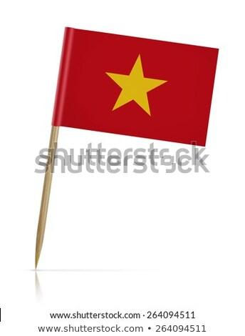 Miniature Flag of Vietnam (Isolated) Stock photo © bosphorus
